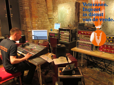 Protools recordings during Veterans Day 2013