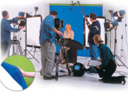Lastolite Chromakey curtain